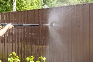 pressure washing for fence deck edwardsville glen carbon maryville illinois pressure washing service