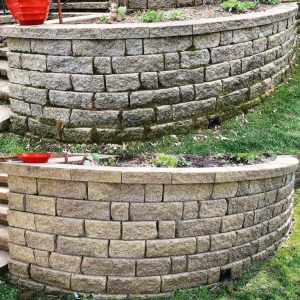 retaining wall pressure washing before after power wash edwardsville bethalto glen carbon maryville troy collinsville illinois wood river il